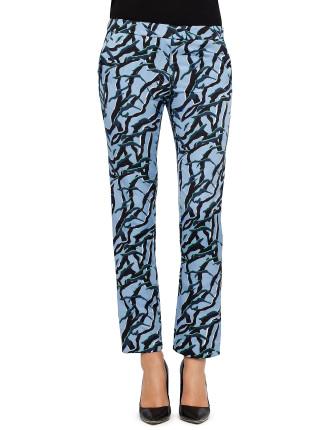 Steepe Print Trouser
