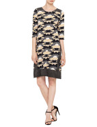 Akira Panelled Long Sleeve Tunic $329.00