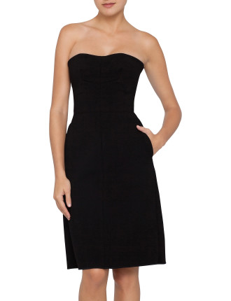 SWAMI STRAPLESS CORSET DRESS