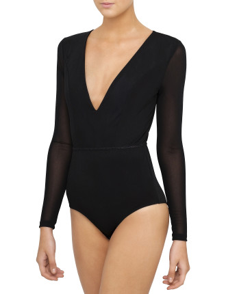 Tamer Plunge Bodysuit