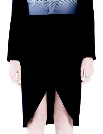 Petal Hem Skirt