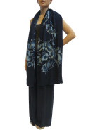 Hand Painted Butterfly Scarf $499.00