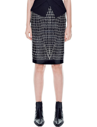 Croc Thermal Skirt