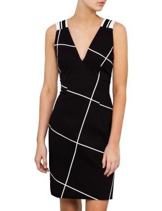 Clean Cotton Drill Sleeveless Dress