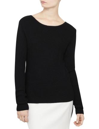 Rib Step Sweater