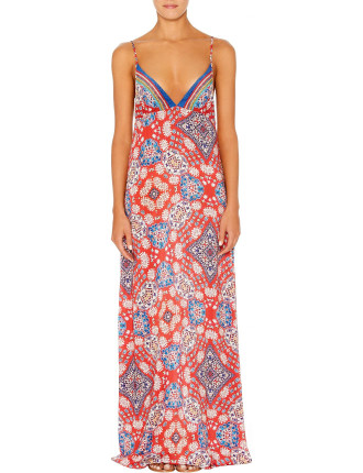 Triangle Top Maxi Dress