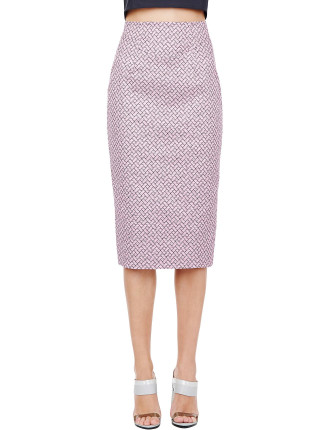 Texture Messaging Skirt