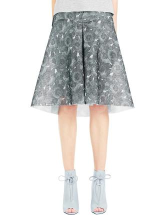 Camelia Wire Skirt