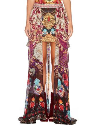 Milagro Charm Short Skirt With Full Ovelay