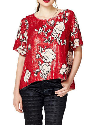 Earth Laughs In Flowers Top