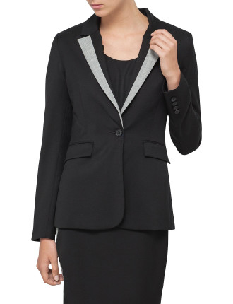 Ellyn Jacket With Contrast Lapel