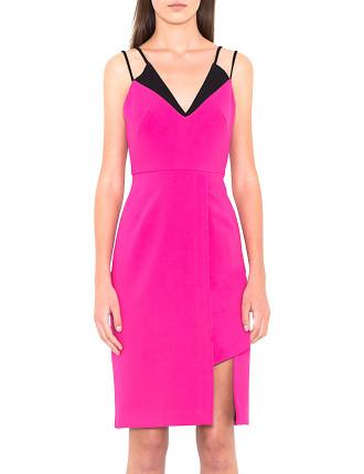 Double Strap V Dress