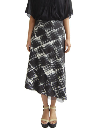 Batik Dipped Skirt