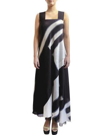 Batik Strap Dress