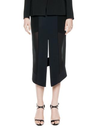 Mirror Sheer Skirt