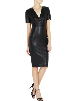 Mode Leather Dress