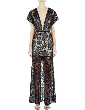 Reverie Lace Sleeve Dress