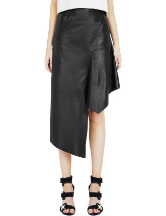Hot Ticket Leather Skirt