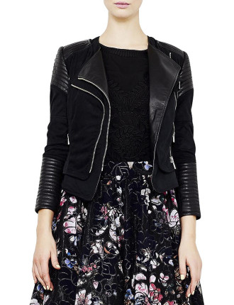 Up In Armour Leather Jacket