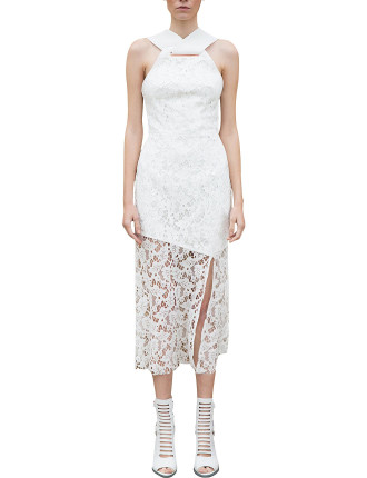 Saturate Cross Neck Gown