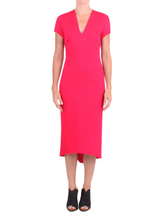 Magnetic Dress With Cap Sleeve