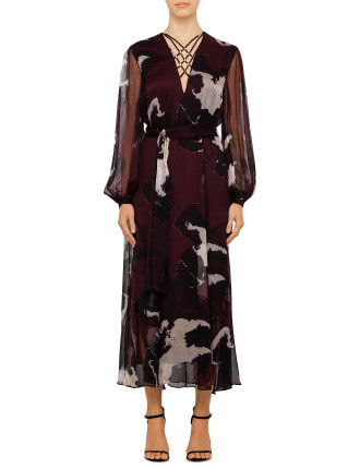 Obscura Dress With Sleeve