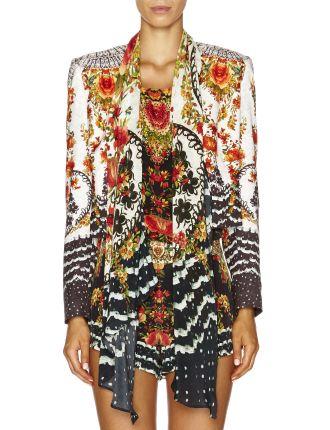 CAMILLA La Rosa Crop Jacket w/ Removable Collar
