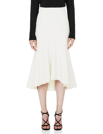 Goldie Fit And Flare Midi Skirt