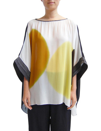 Hand Painted Rectangular Top