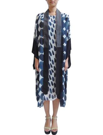 Hand Painted Kimono