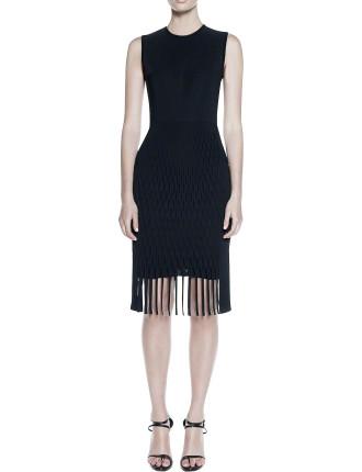 Perf Fringe Dress