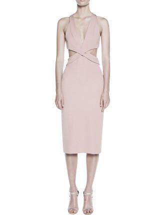 Belted Symmetry Dress