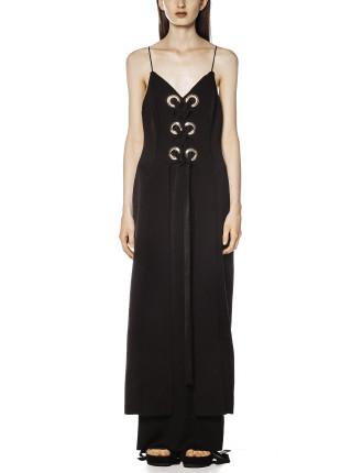 Delorean Lace Up Dress