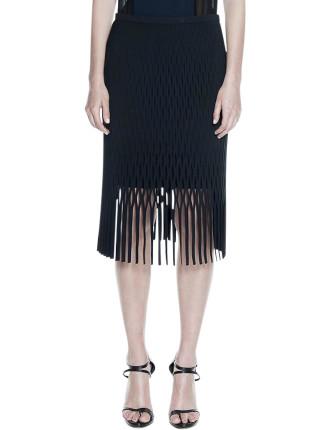 Perf Fringe Skirt