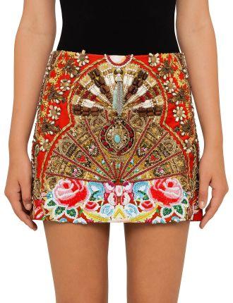 CAMILLA Cameos Dance Mini Skirt