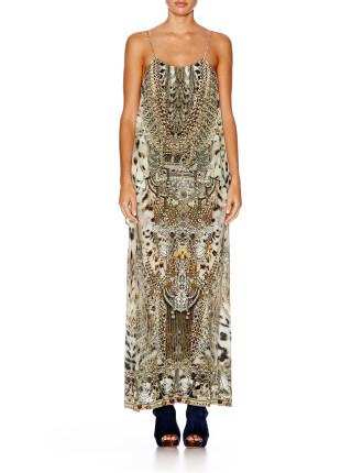 CAMILLA Espiritu Lowback Layered Dress