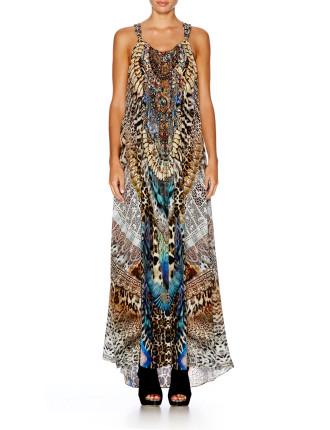 CAMILLA Fan of the Wild Drawstring Dress
