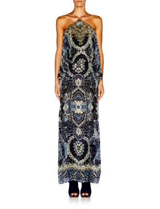 CAMILLA Constantinople Halter Neck Layered Dress