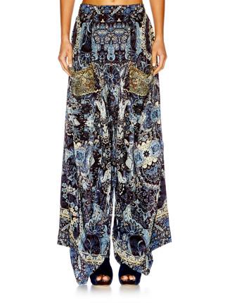 CAMILLA Constantinople Wide Leg Trouser W/ Pockets