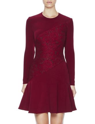 Twister Splice Mini Dress