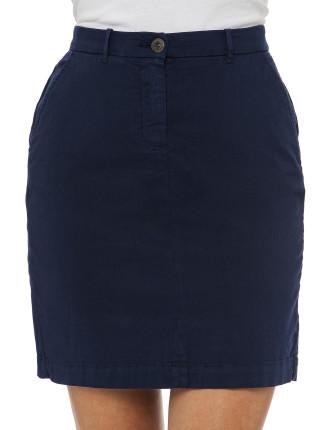 Classic Casual Chino Skirt
