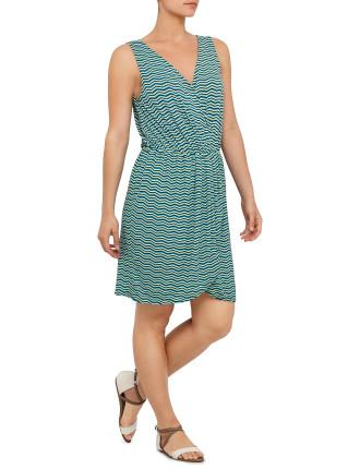 Zig Zag Beach Dress