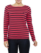 CLASSIC STRIPED BOATNECK T-SHIRT $139.00