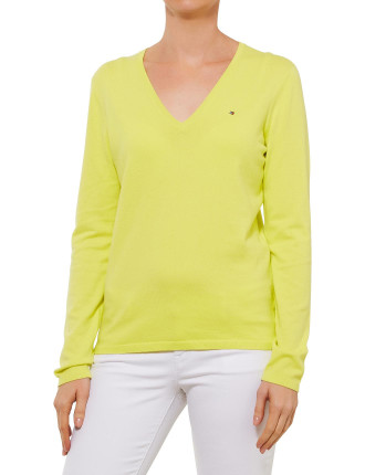 NEW IVY V-NECK SWEATER