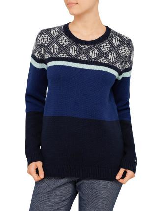 Dover Fairisle C-Nk Sweater