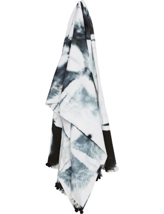Square Dyed Duranbah Beach Towel