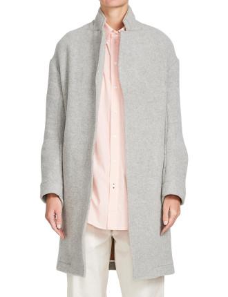 Double Face Longerline Coat