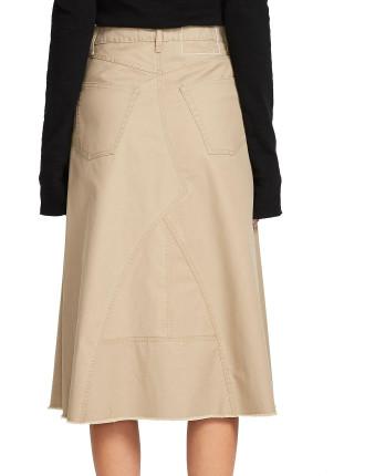 A Line Workwear Skirt