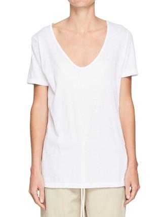 Scoop V Neck T.Shirt li