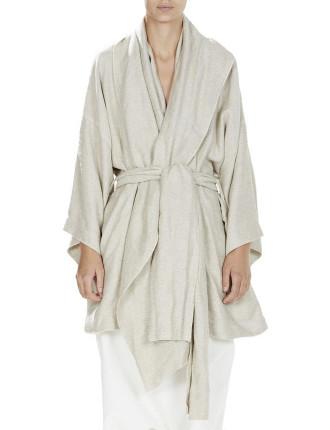 Linen Viscose Oversized Kimono